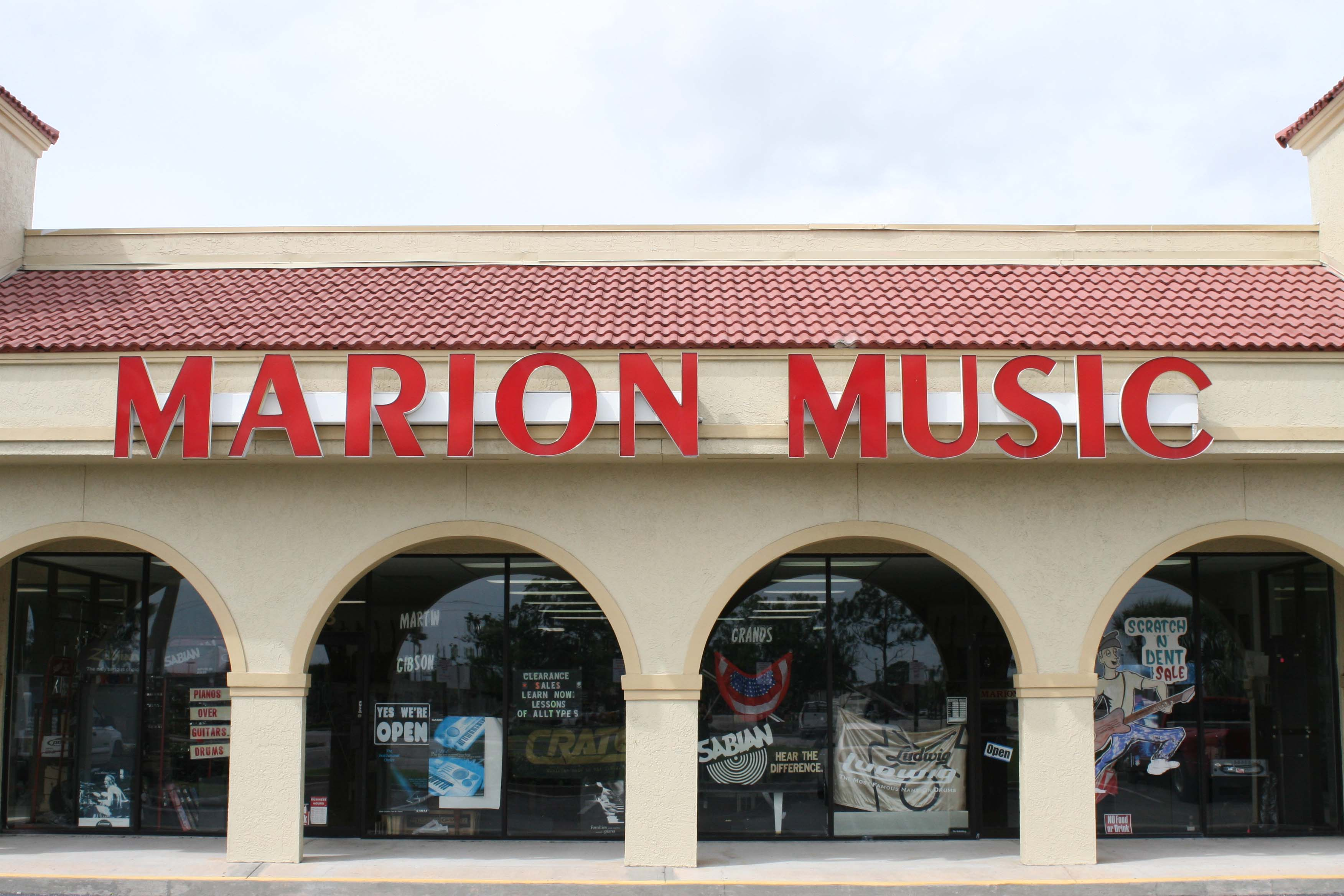 Marion Music - Home